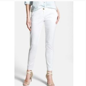 MICHAEL Michael Kors White Linen Pants Size 4